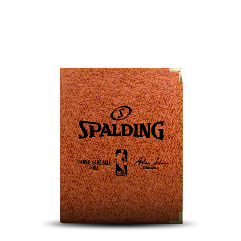Spalding NBA Folder - A5 Orange