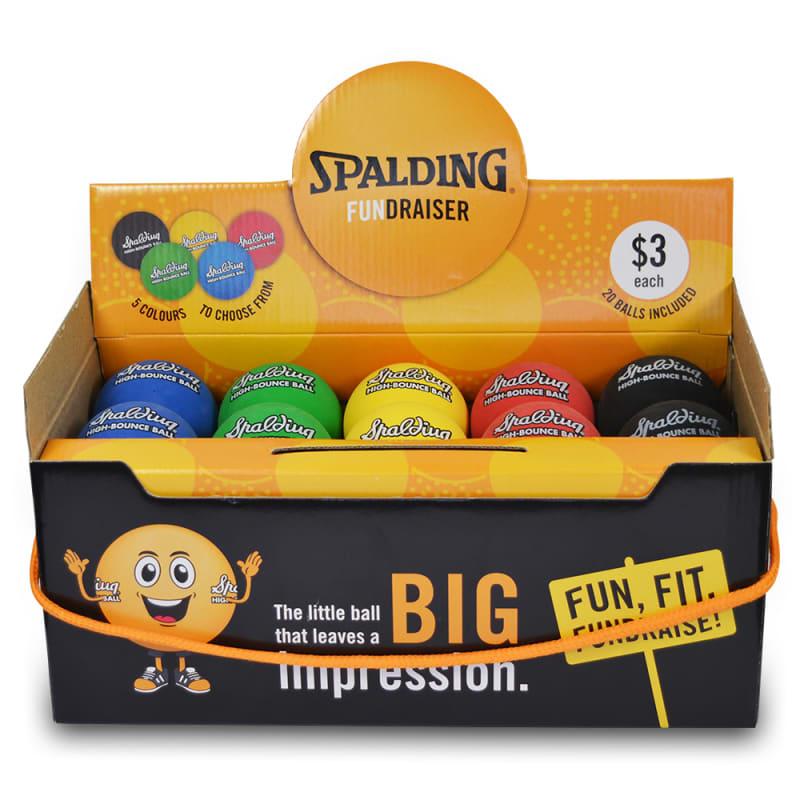 Fundraiser High Bounce Balls - 120 Balls - 6 Packs