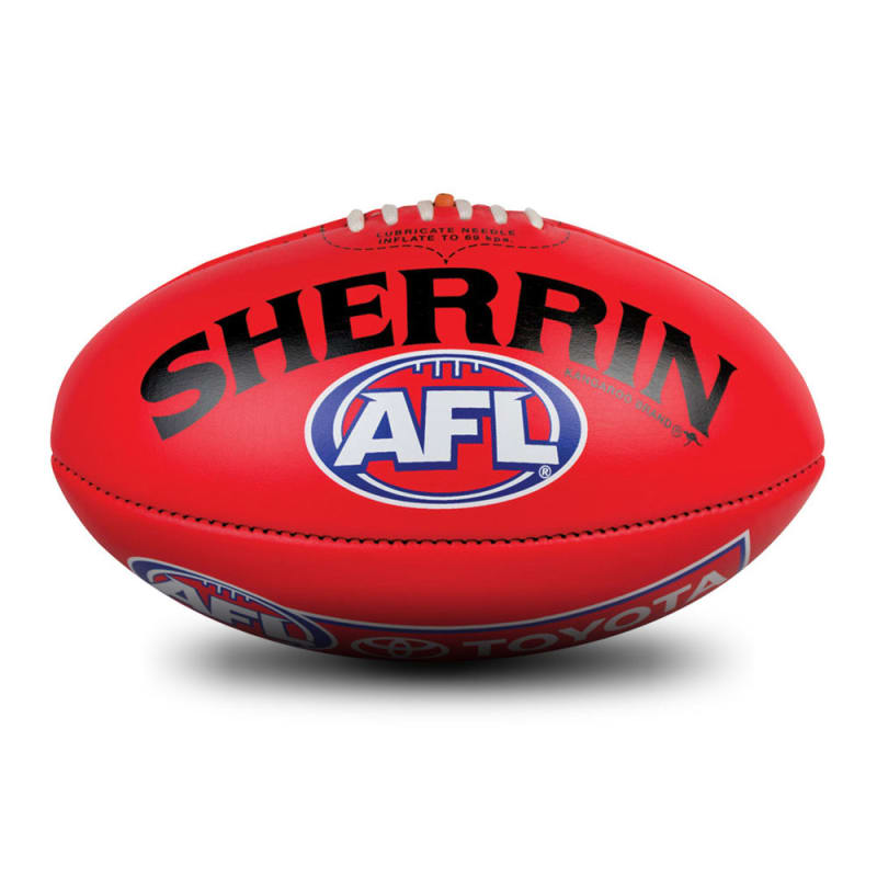 Official Game Ball of the AFL - Red