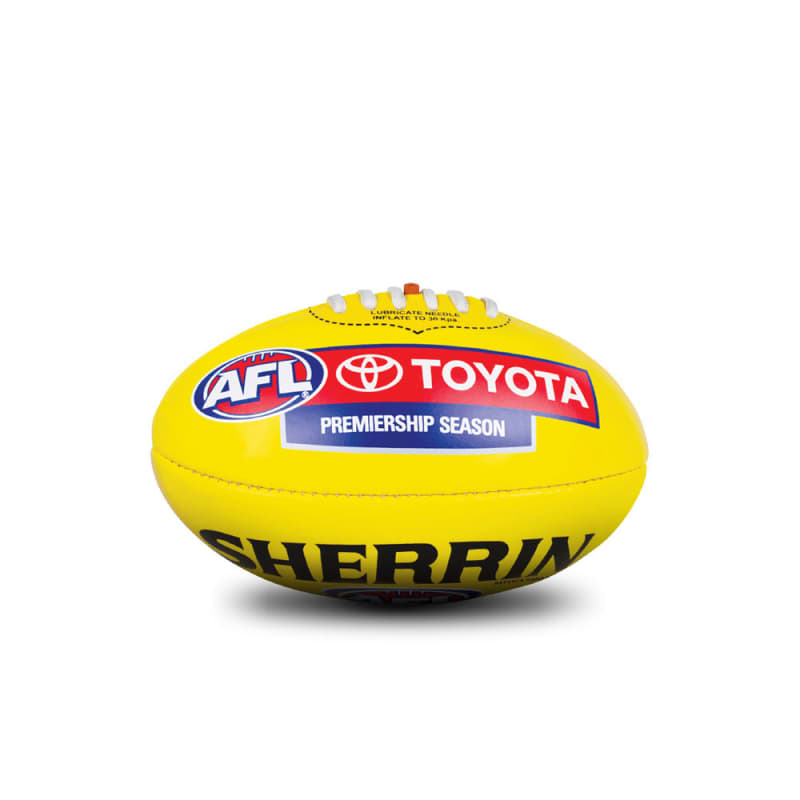 AFL Replica Mini Ball - Yellow