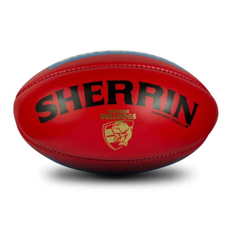 Western Bulldogs Game Ball - Red