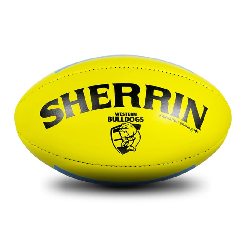 Western Bulldogs Game Ball - Yellow