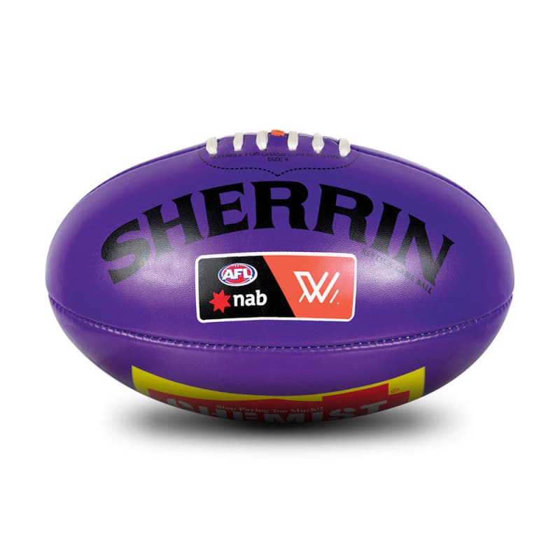 AFLW Replica PVC Ball - Purple