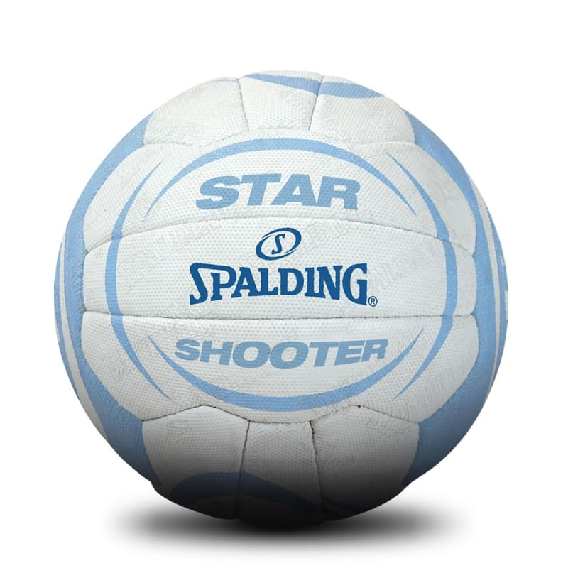 Star Shooter Netball - White/Blue