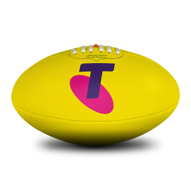 2020 Toyota AFL Finals Series Game Ball Replica - Yellow