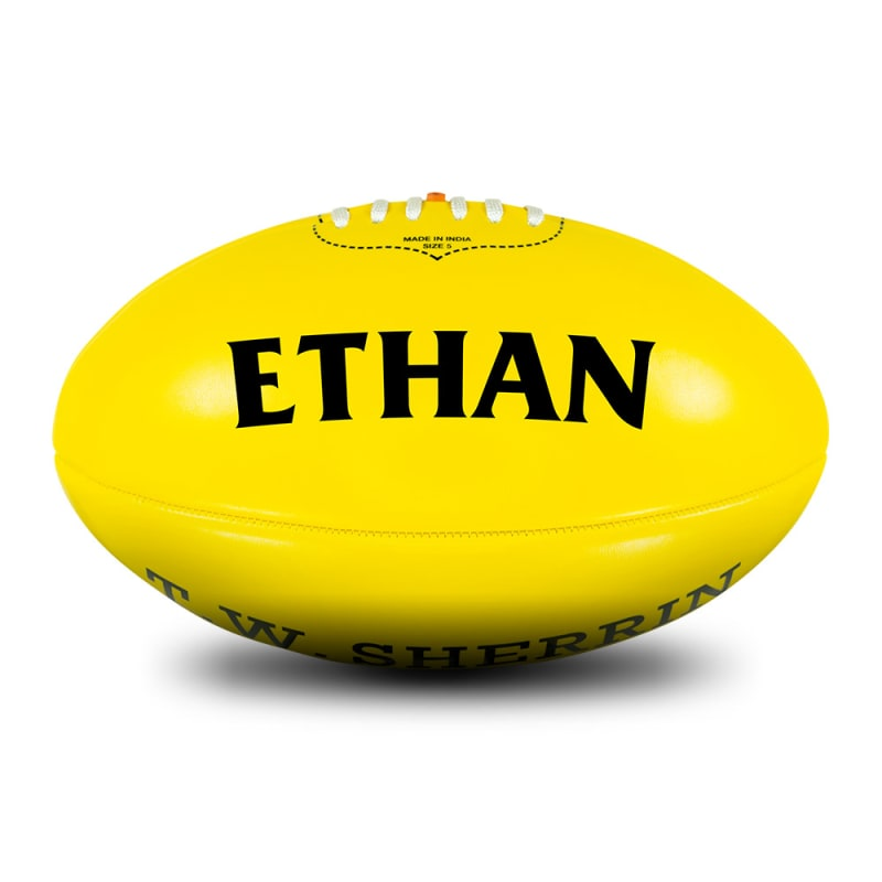 Personalised Yellow Football - Size 5