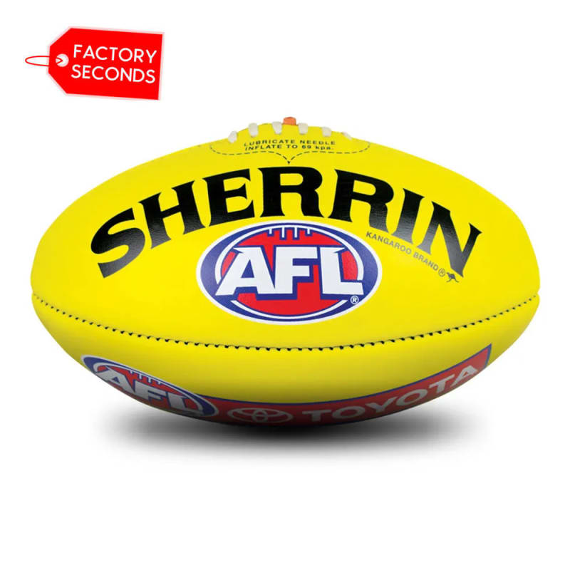 KB Seconds - AFL Yellow Size 5