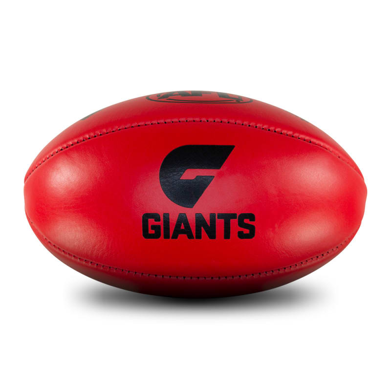 Personalised Leather KB Red - GWS Giants