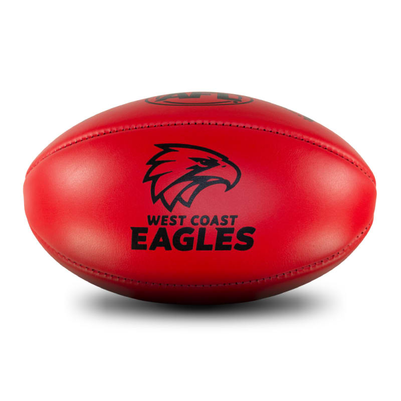 Personalised Leather KB Red - West Coast Eagles