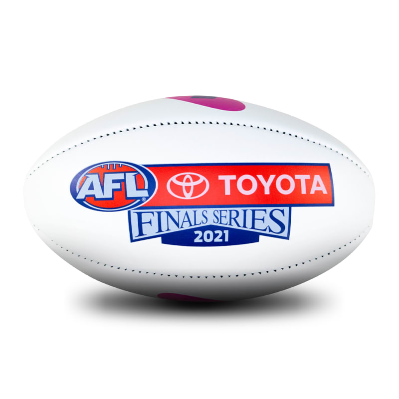 2021 Toyota AFL Finals Series Game Ball - White