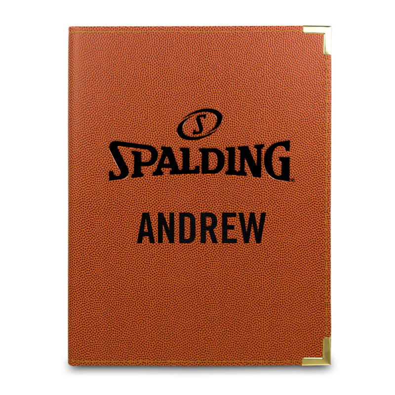 Personalised Spalding Folder - A4 Orange