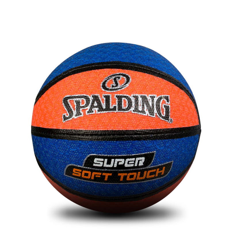 Super Soft Touch Basketball - Orange/Blue