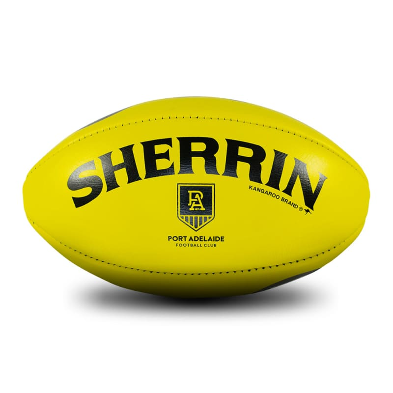 Port Adelaide Game Ball - Yellow