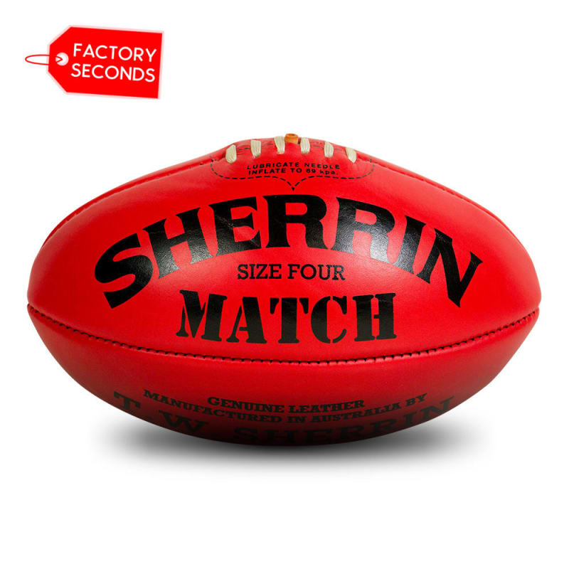 Match Seconds - Red Size 4