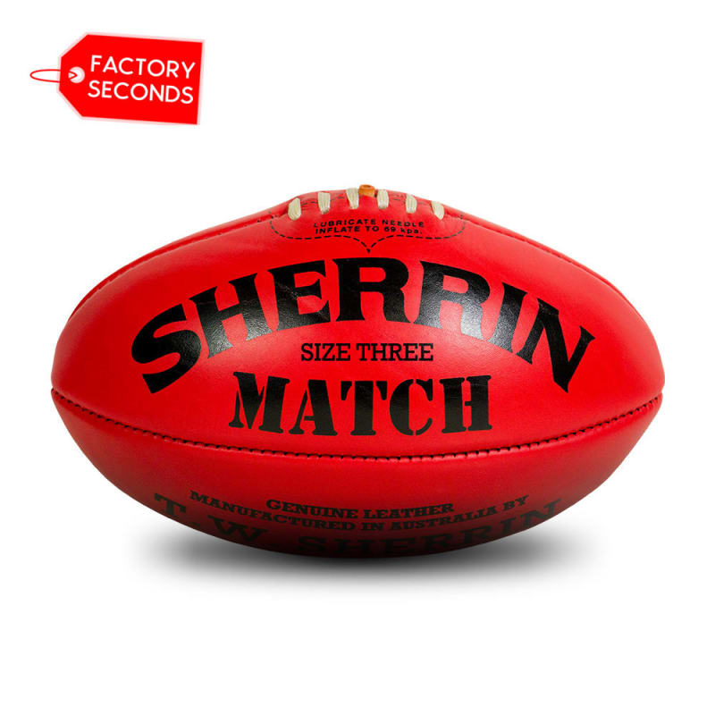 Match Seconds - Red Size 3