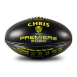 2020 Richmond Tigers Premiers Personalised - Black & Yellow