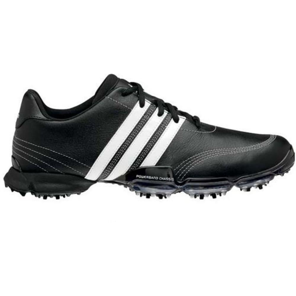 78f6d46fa48886 Adidas Powerband Grind 2 Golf Shoes BLACK WHITE - The Sports HQ