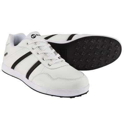 Ram Golf FX Comfort Mens Waterproof Golf Shoes - White / Black
