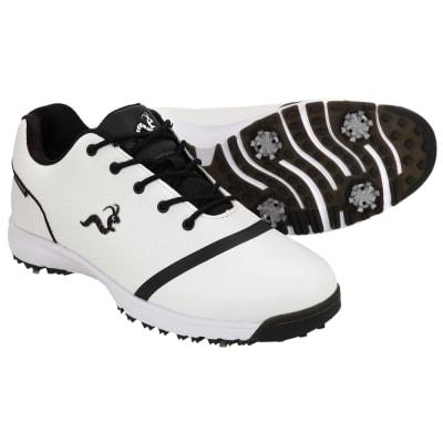 Woodworm Tour V3 Mens Waterproof Golf Shoes - White / Black