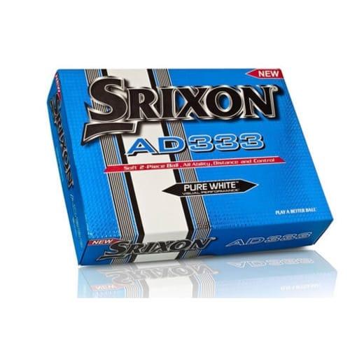 Srixon AD333 Golf Balls - 1 Dozen - White
