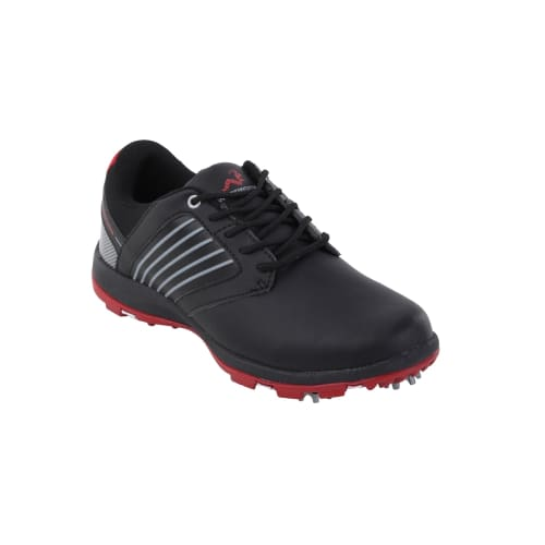 Woodworm Player V2 Leather Golf Shoes Black