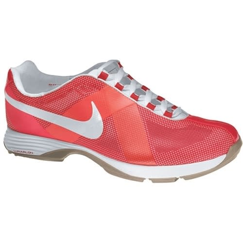 Nike Lunar Summer Lite Ladies Golf Shoes Sunbrust Pink/White