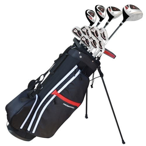 Prosimmon X9 V2 Golf Set with 1 Inch Longer Clubs and Bag - Mens Right Hand