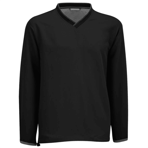 Ashworth Performance Solid V-Neck Pullover