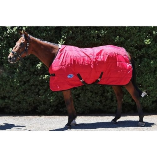 OPEN BOX Barnsby Stable Rug-210D Oxford-200g-w/out Neck-Red 66