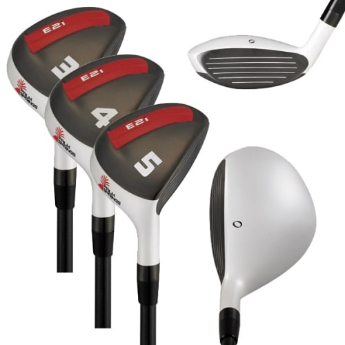 PALM SPRINGS GOLF E2I 3-4-5 HYBRID RESCUE WOOD SET - LEFTY