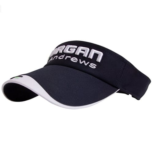 Forgan Velcro Adjustable Golf Visor Navy