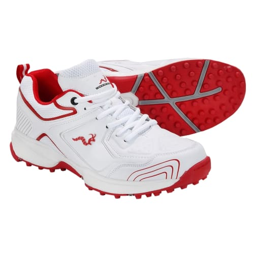Woodworm Alpha Mens Rubber Cricket Shoes