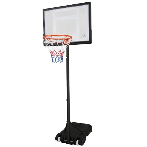 Woodworm Outdoor Junior Kids Deluxe Adjustable Height Basketball Hoop System