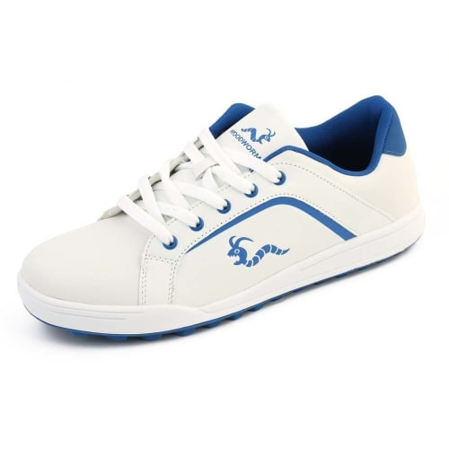 Woodworm Golf Surge V3 Mens Golf Shoes White/Blue