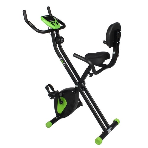 ZAAP Fitness Folding Recumbent Upright Exercise Bike