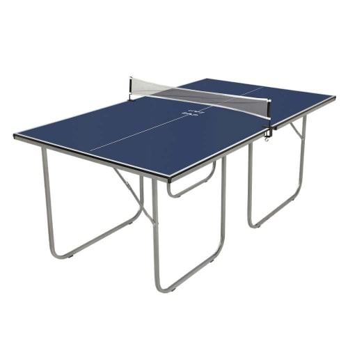 OPEN BOX ZAAP Midsize Table Tennis Table - Compact Folding Design - Can Be Used as Two Separate Tables