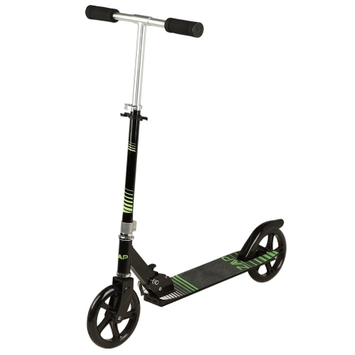 ZAAP Pro X1 Folding Kick Scooter with Adjustable Handlebar - Black