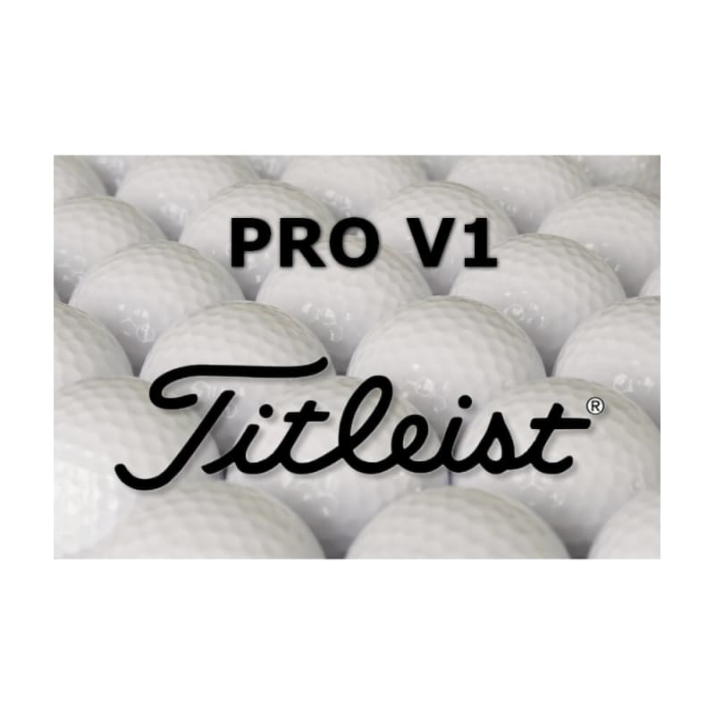 6 x 12 Titleist Pro V1 Refinished Lake Balls