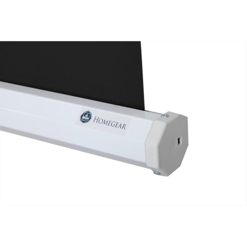 """OPEN BOX Homegear 100"""" 4:3 Tripod Projector Screen HD #4"""