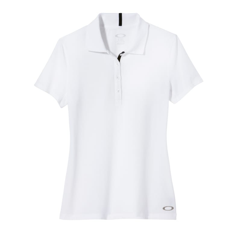 Oakley Golf Ladies Sand Wedge Polo Shirt – White