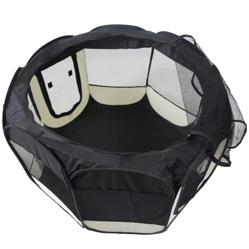 OPEN BOX Confidence Pet Soft Fabric Playpen - XL #4