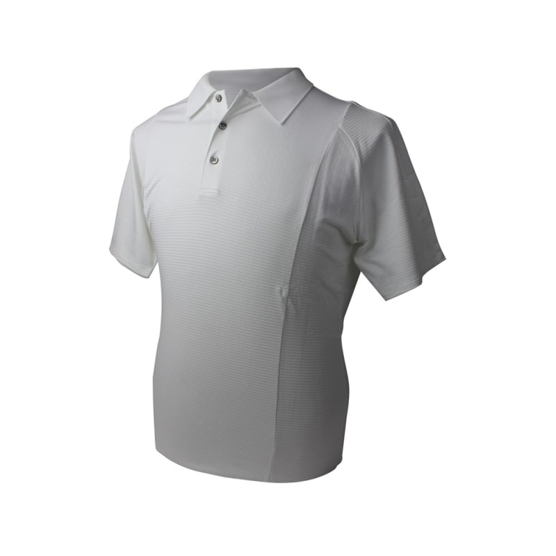 Adidas Mens AdiPure Textured Polo