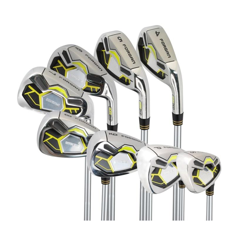 Forgan Golf IWD3 Iron Set LRH (4-SW) - Graphite Shaft - Lady Flex #