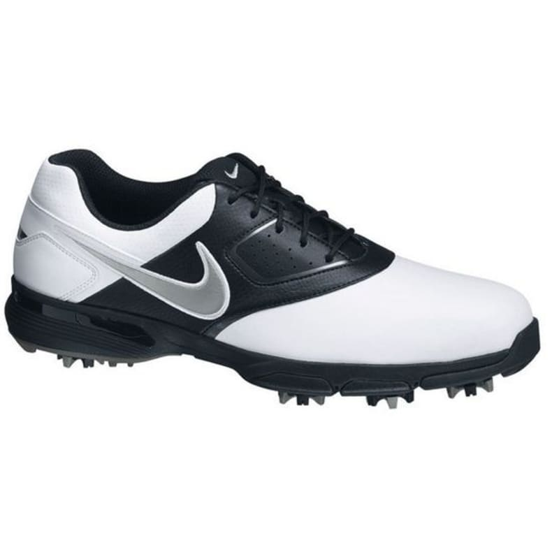 Nike Golf Heritage Golf Shoes WHITE/BLACK