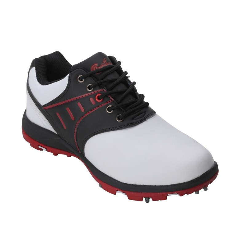 Confidence III Waterproof Golf Shoes - White / Black