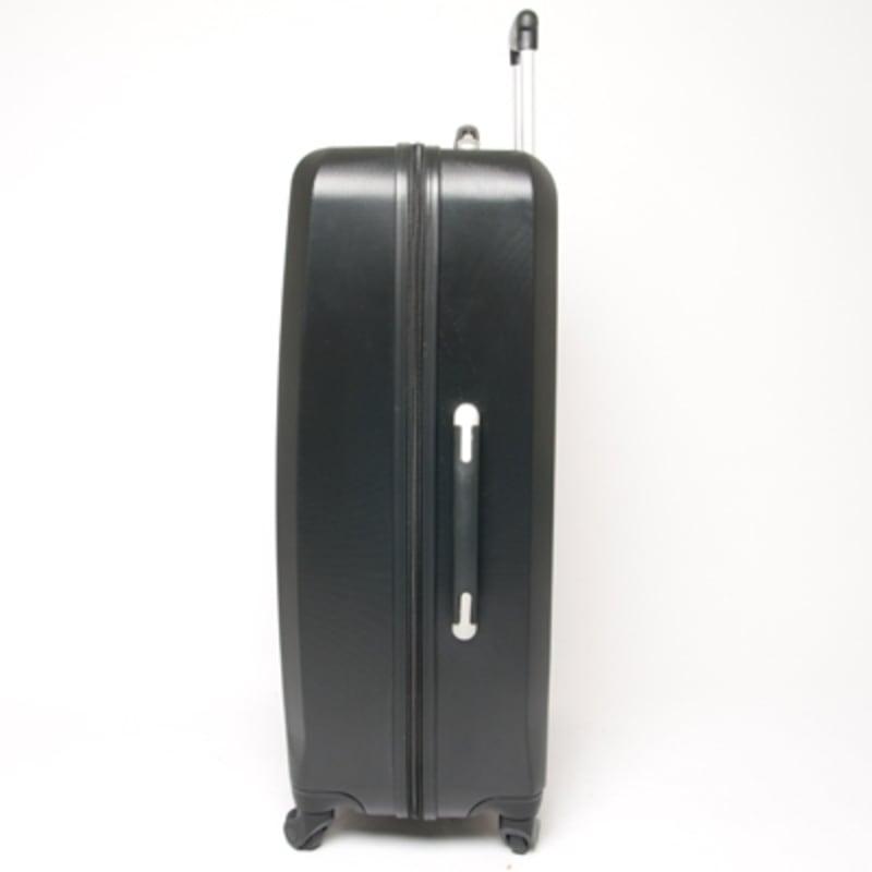 "OPEN BOX Swiss Case Diamond Black 28"" 2 PC Spinner Luggage #1"