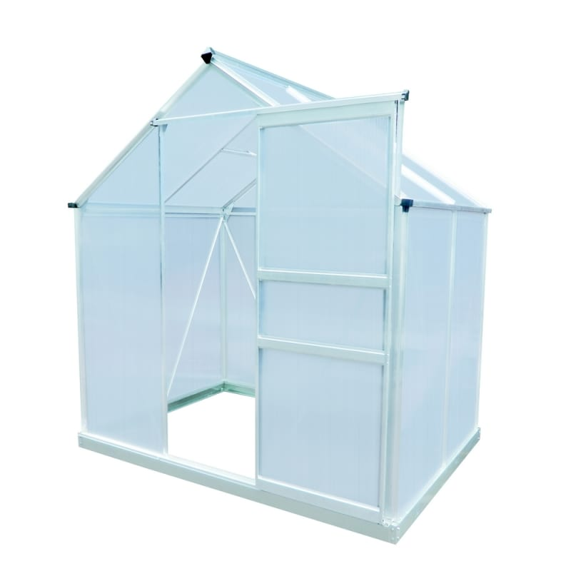 Palm Springs 6ft x 6ft Aluminum Greenhouse