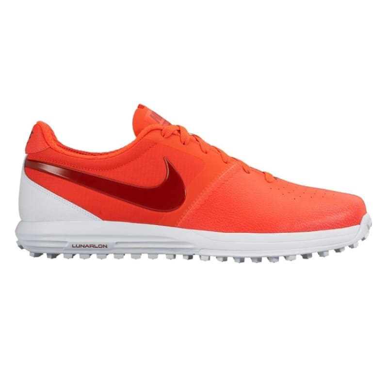 Nike Lunar Mont Royal Golf Shoes Crimson / Red / White