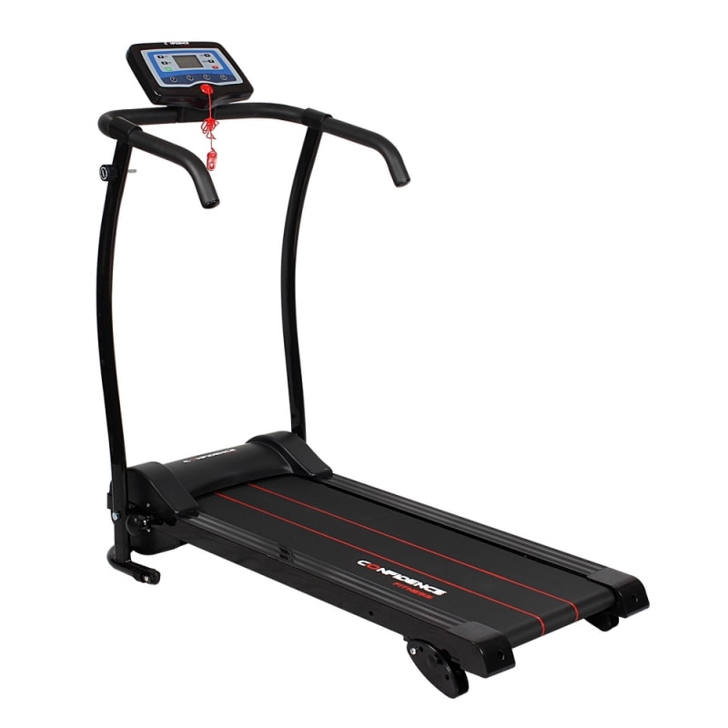 Ex-Demo Confidence Power Trac Pro 735W Electric Motorised Treadmill Black