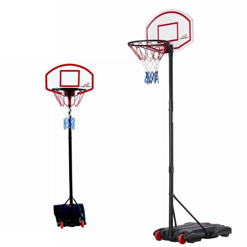 Woodworm Adjustable Basketball Stand & Hoop Set